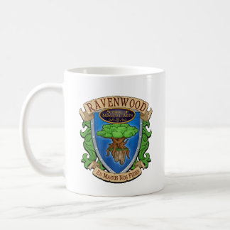 Wizard101 Ravenwood Coat of Arms Mug