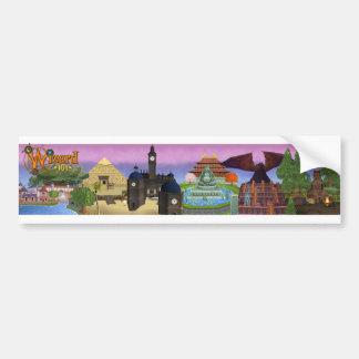 Wizard101 Worlds of the Spiral Sticker Bumper Sticker
