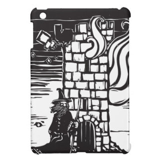 Wizard and Burning Tower Cover For The iPad Mini
