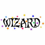 Wizard and Stars Photo Cut Out