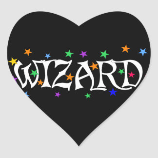 Wizard and Stars Stickers