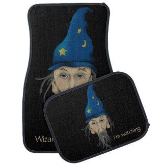 Wizard at the Helm Car Floor Mat