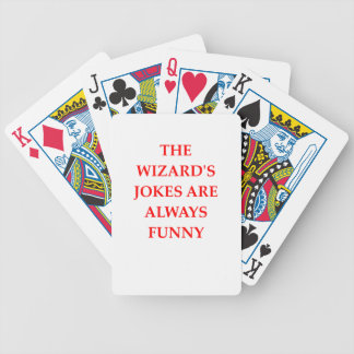 WIZARD BICYCLE PLAYING CARDS