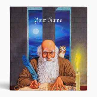 Wizard Binder with Your Name