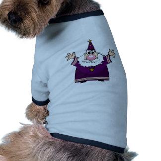 Wizard casting spell pet shirt