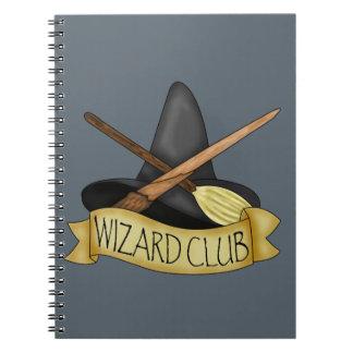 Wizard Club Notebook