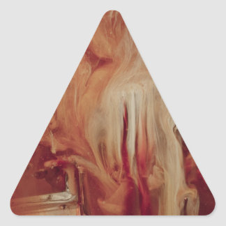 """""""Wizard"""" collection Triangle Sticker"""