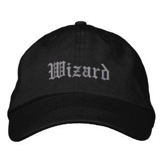 Wizard Embroidered Baseball Cap