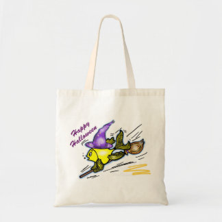 Wizard Fish - funny cute drawing Tote Bag