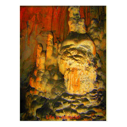 WIZARD FROM THE CAVE - Postcard
