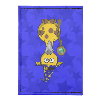 Wizard Giraffe Cute Cartoon Tyvek® Card Case Wallet