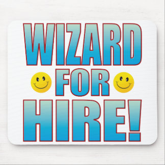 Wizard Hire Life B Mouse Pad