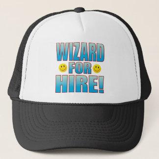 Wizard Hire Life B Trucker Hat