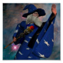 Wizard in Blue