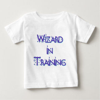 Wizard in Training blue Baby T-Shirt