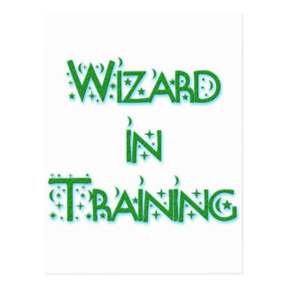 Wizard in Training Postcard