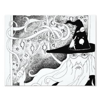 Wizard 4.25x5.5 Paper Invitation Card