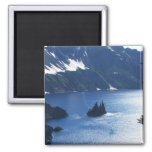 Wizard Island Crater Lake Oregon Refrigerator Magnet