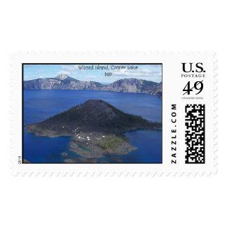 Wizard Island Postage