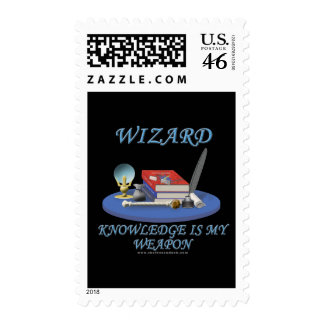 Wizard: Knowledge is My Weapon Postage