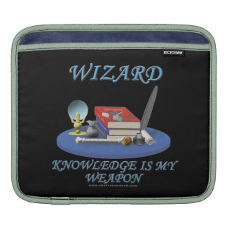 Wizard: Knowledge is My Weapon Sleeves For iPads