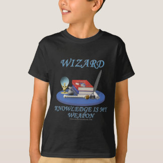 Wizard: Knowledge is My Weapon T-Shirt