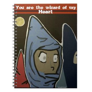 wizard of my heart notebook