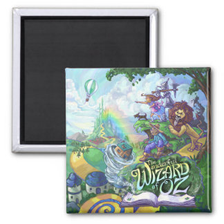 Wizard of Oz 2 Inch Square Magnet
