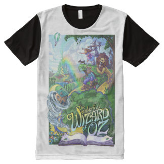 Cowardly lion t shirts shirt designs zazzle for Wizard t shirt printing