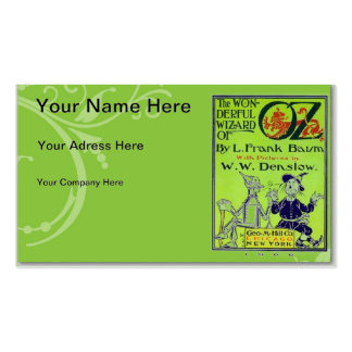 Wizard of Oz Business Card