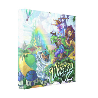 Wizard of Oz Canvas Print
