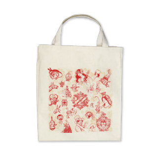 Wizard of Oz Character Bag