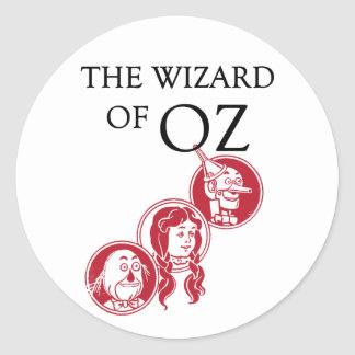 Wizard of Oz Characters Stickers