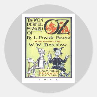 Wizard of Oz Classic Round Sticker