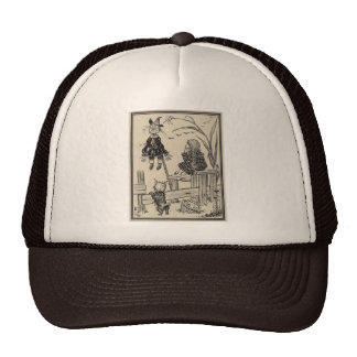 Wizard of Oz Dorothy and the Scarecrow Trucker Hat
