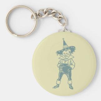 Wizard of Oz Munchkin Basic Round Button Keychain