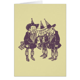 Wizard of Oz Munchkins Card