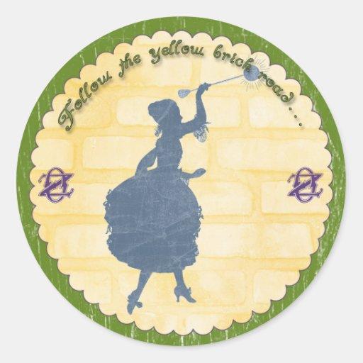 Wizard of Oz Party Glinda the Good Witch Sticker