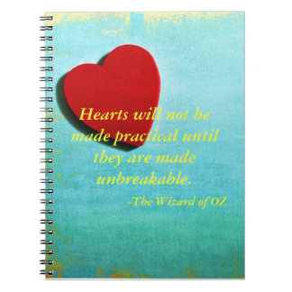 Wizard of OZ quote Journal