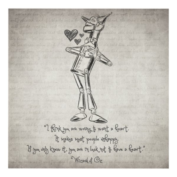 Wizard of Oz Quote Panel Wall Art