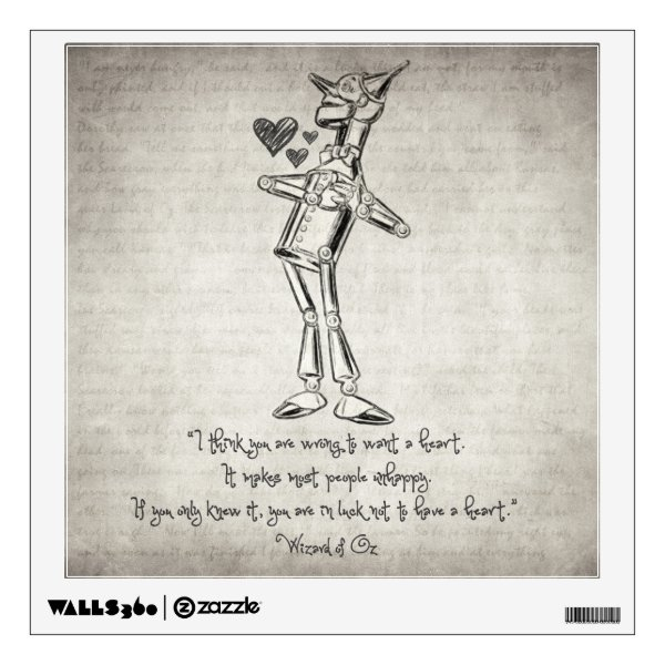 Wizard of Oz Quote Wall Sticker