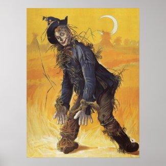 Wizard of Oz Scarecrow print