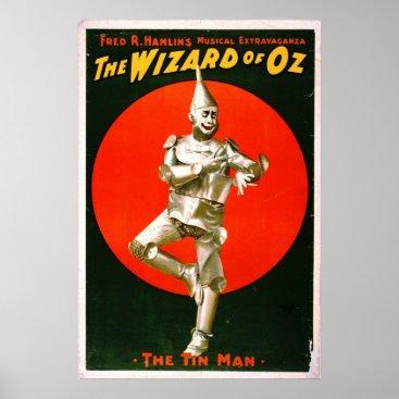 ClassicOldPhotos Wizard of Oz - Tin Man 1903 Poster