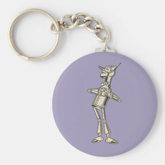 Wizard of Oz Tin Man Basic Round Button Keychain