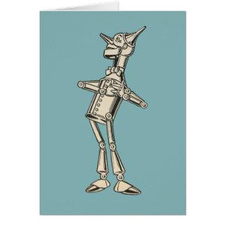 Wizard of Oz Tin Man Card