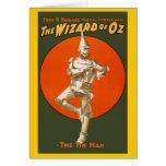 Wizard Of Oz Tin Man Greeting Card