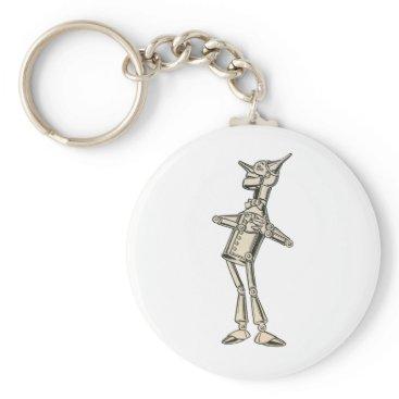 DulceDahlia Wizard of Oz Tin Man Keychain