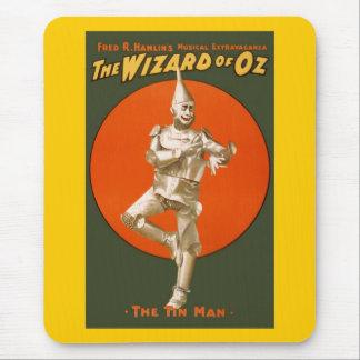 Wizard Of Oz Tin Man Mouse Pad