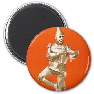 Wizard Of Oz Tin Man - Vintage Musical Theater Magnet
