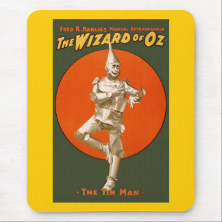 Wizard Of Oz Tin Man - Vintage Musical Theater Mouse Pad